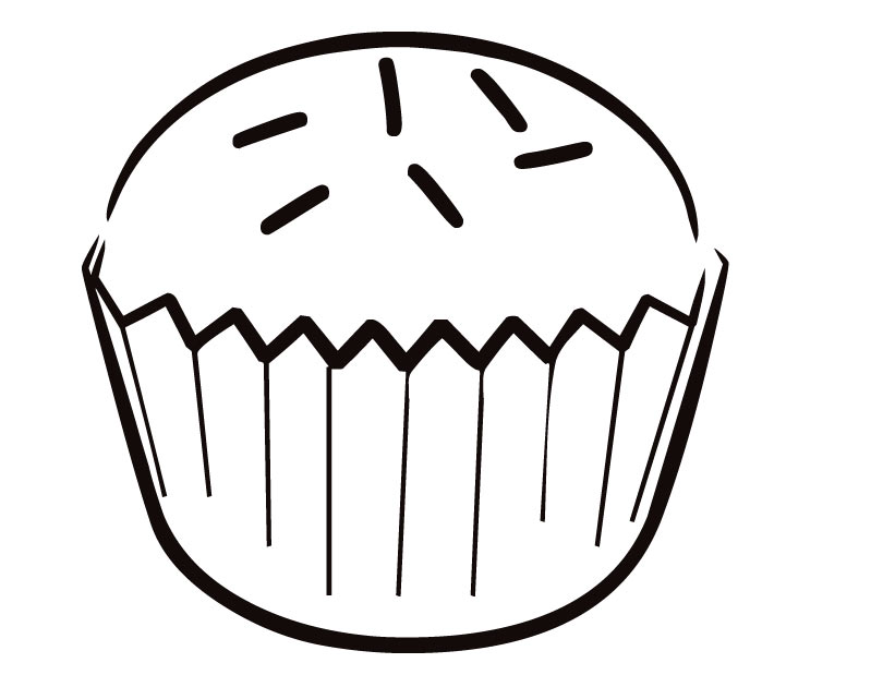 Free Printable Cupcake Coloring Sheets