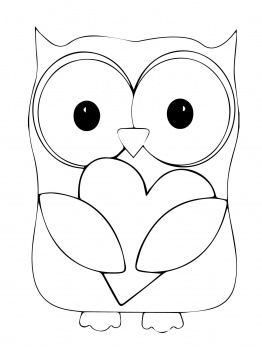 Heart Coloring Sheets for Kids