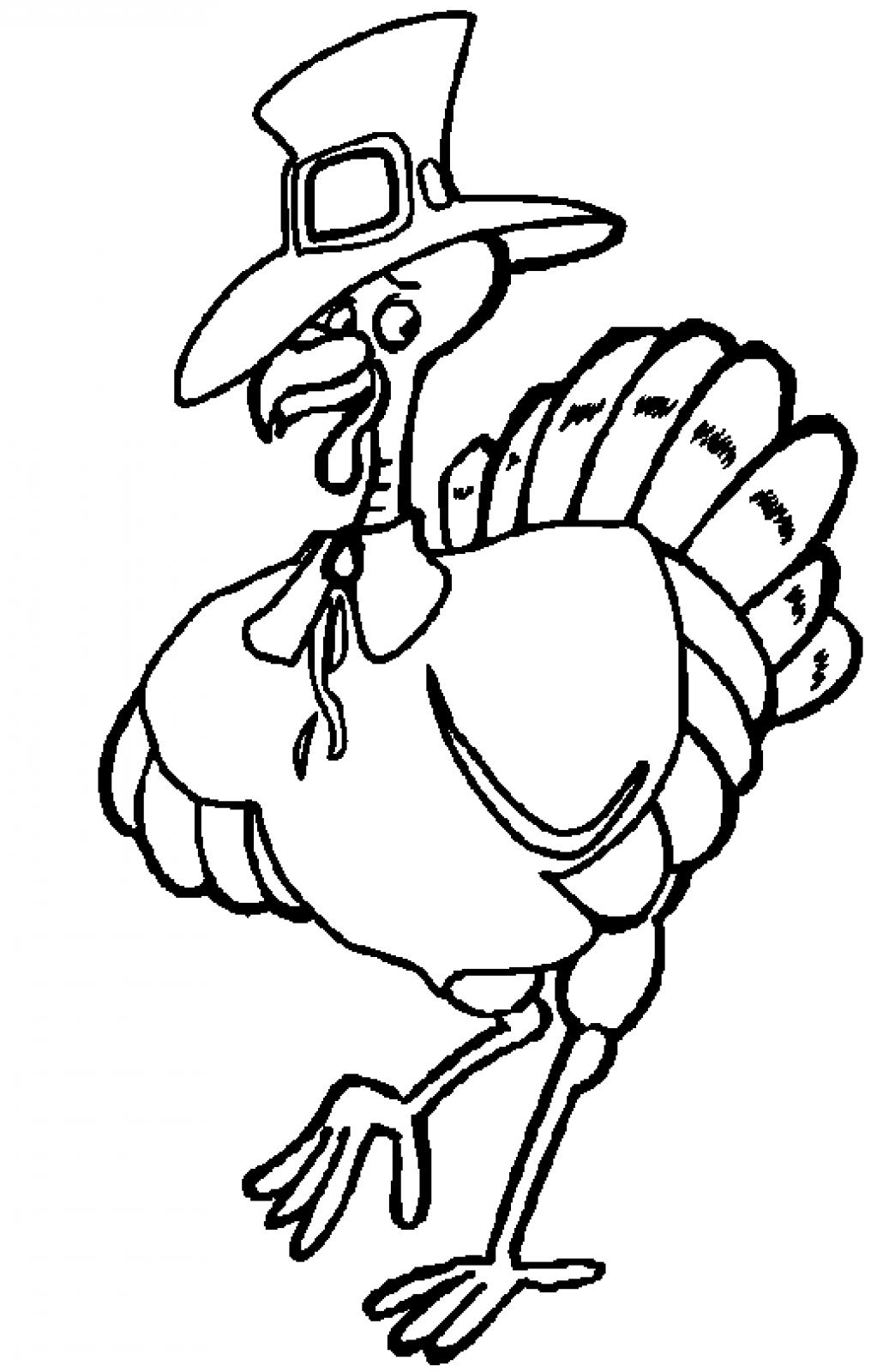 cute turkey coloring pages - photo#37