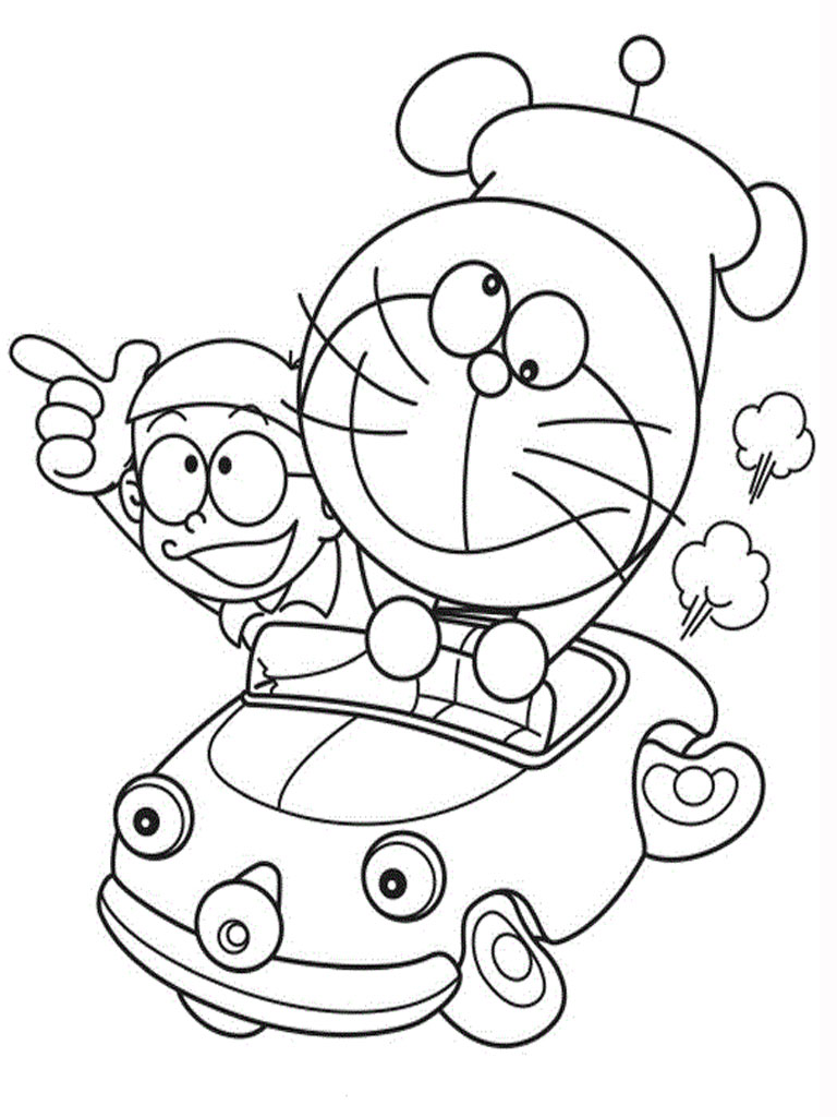 Doraemon Coloring Pages 360ColoringPages