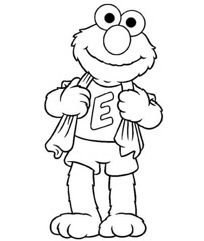 Elmo Coloring Pages Free Download