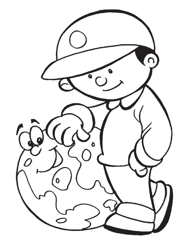 Download Free Earth Day Coloring Pages for Print