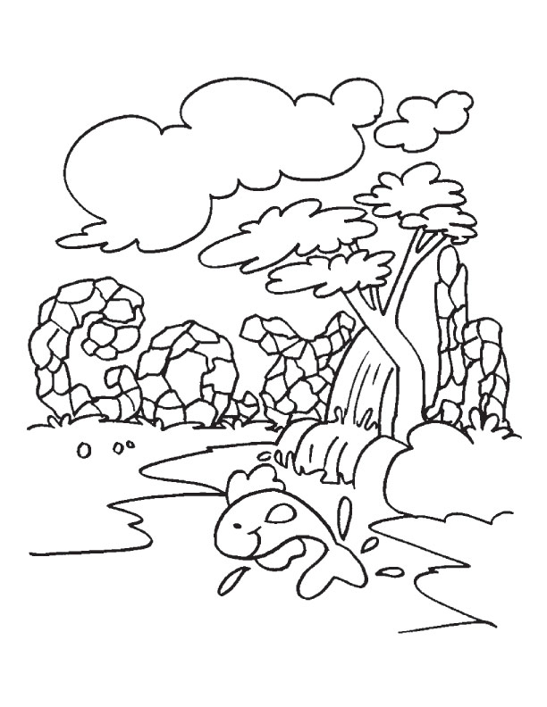 Download Free Earth Day Coloring Sheet for KIds