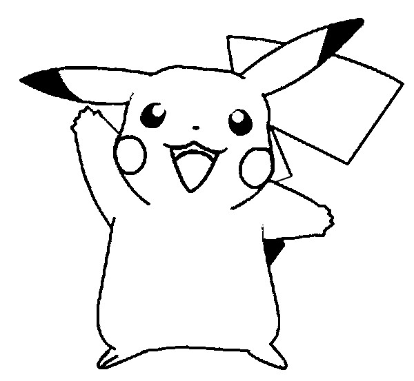 Pikachu Coloring Sheets for Print