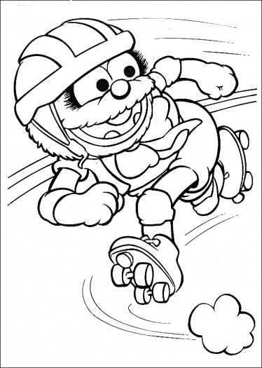 Elmo Coloring Pictures