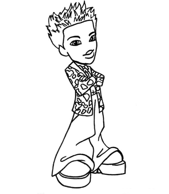Bratz Coloring Pages for Kids Printable