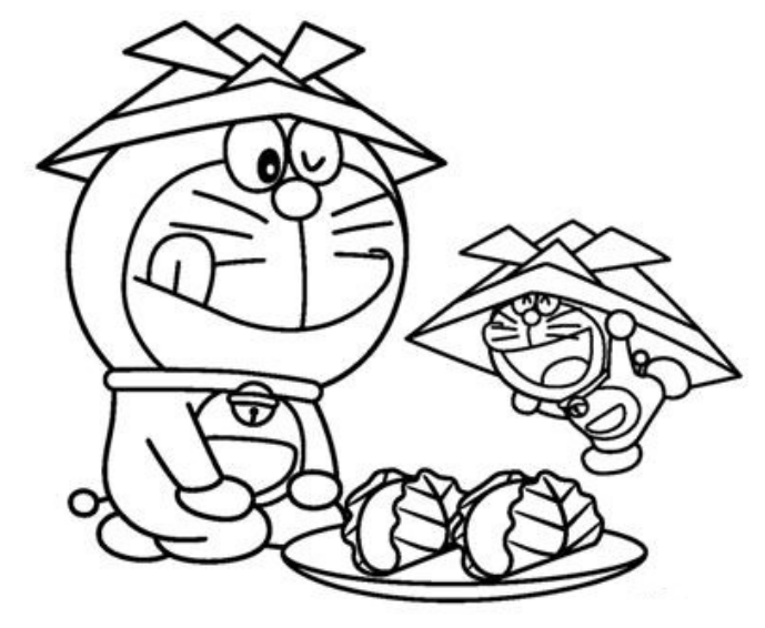 Free Printable Doraemon Coloring Page Download Sheets