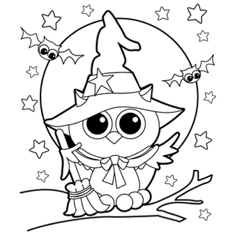 Free Owl Coloring Sheets to Print