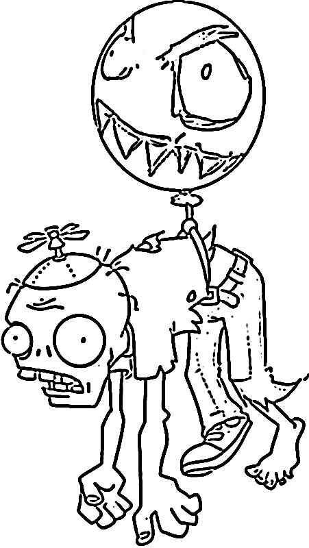 Free Zombie Coloring Sheets for Print