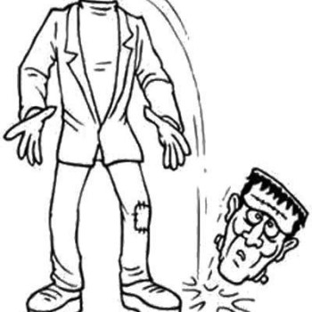 Download Zombie Coloring Pages