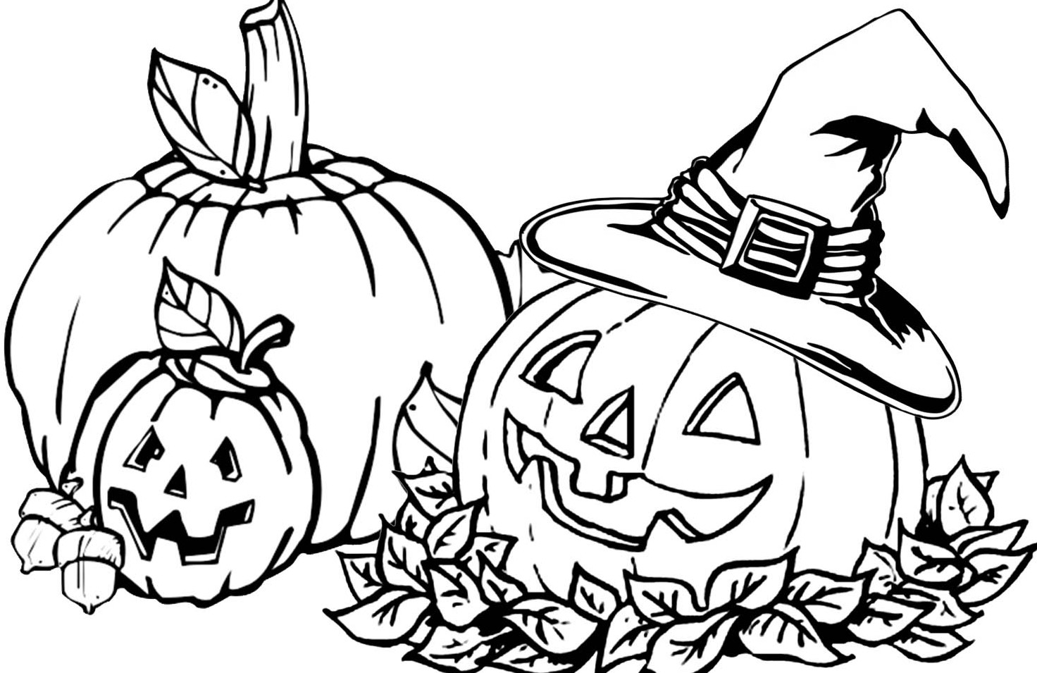 Pumpkin Coloring Pages | 360ColoringPages