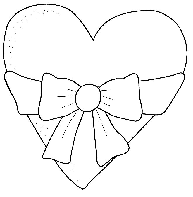 Heart Coloring Pages Kids Printable