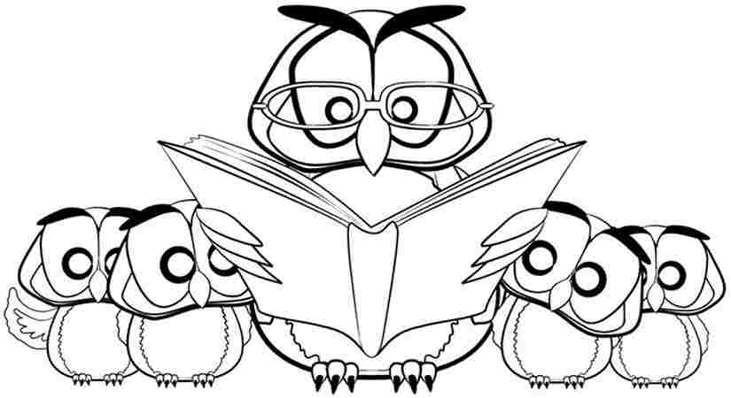 Cute Owl Coloring Pages for Kids