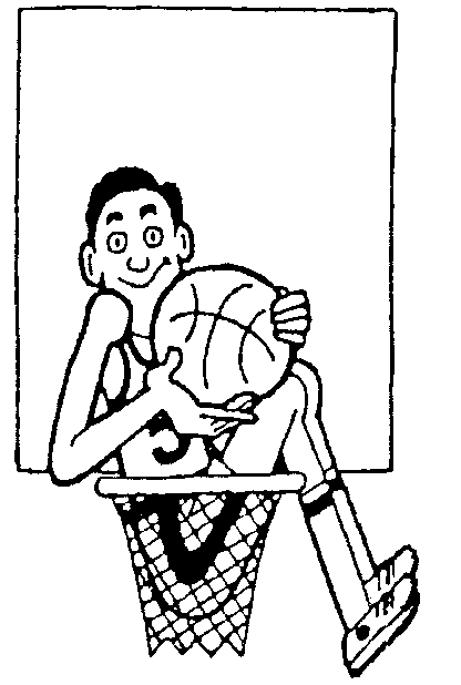 Printable Basketball Coloring Sheets for Free
