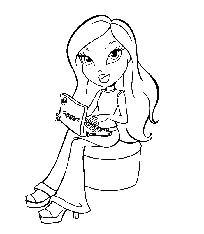 Print Bratz Coloring Sheets for Kids