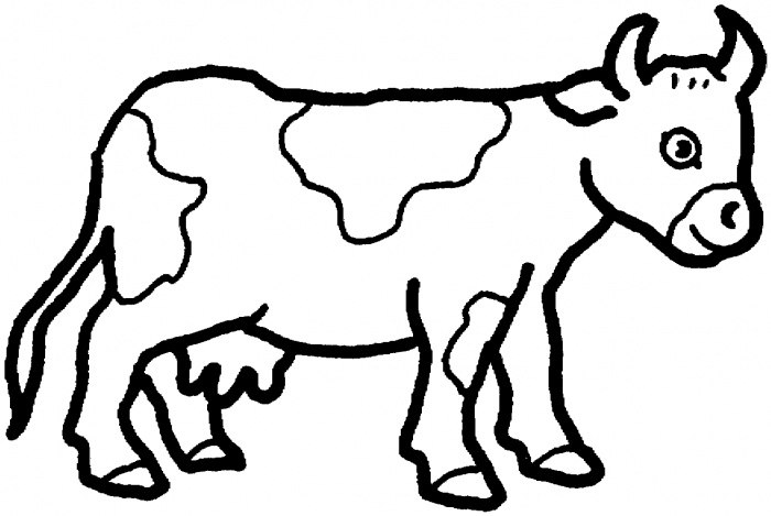 Cow Coloring Pages | 360ColoringPages