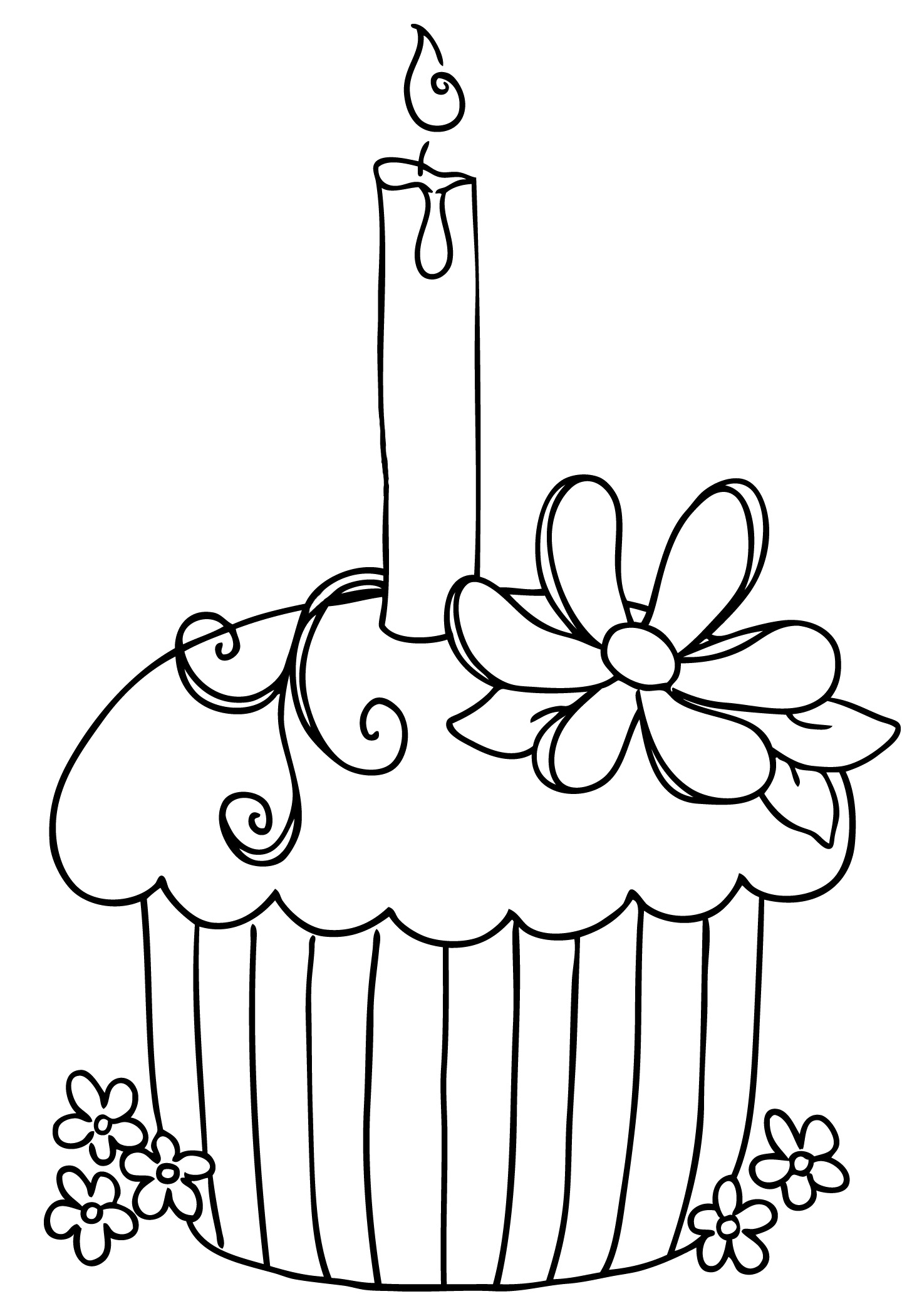 cute cupcake coloring sheets - Heart.impulsar.co