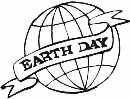 Printable Earth Day Coloring Images for Free