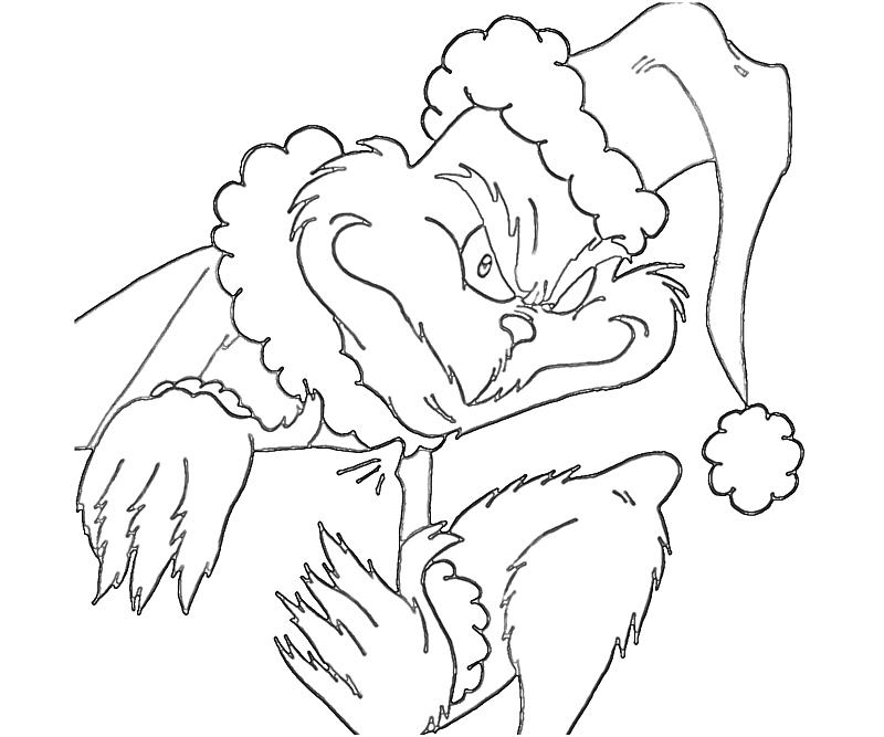 Grinch Coloring Sheets for Kids