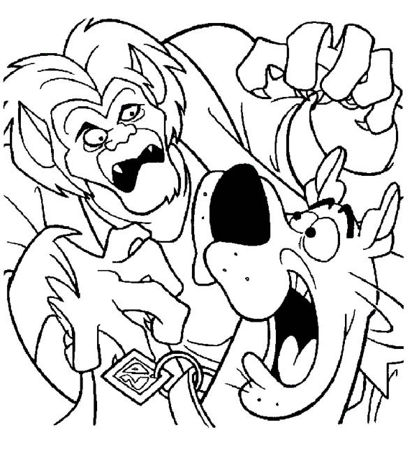 Scooby Doo Coloring Sheets Kids Printable