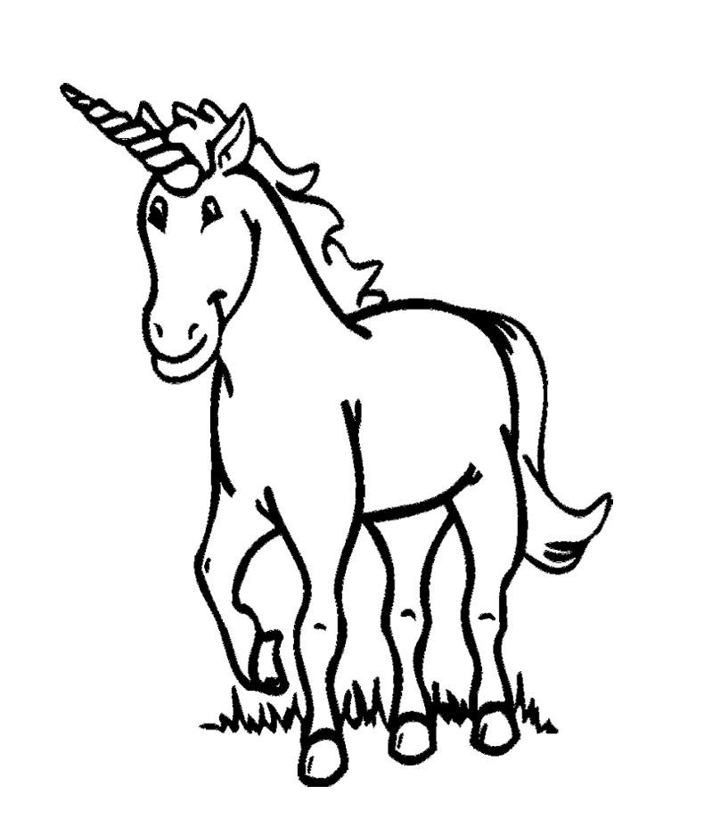 Unicorn Coloring Pages for Kids Free