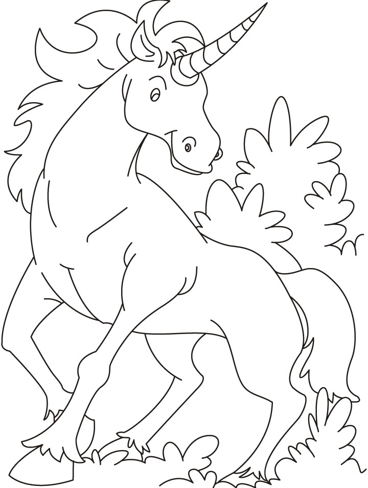 Unicorn Coloring Sheets for Kids