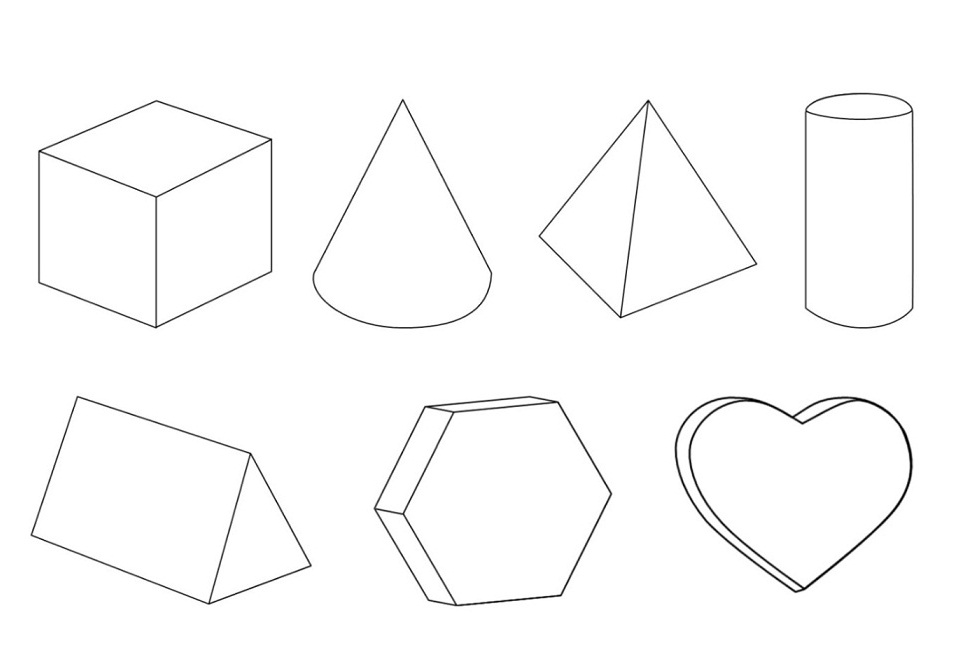 Geometric Coloring Pages | 360ColoringPages