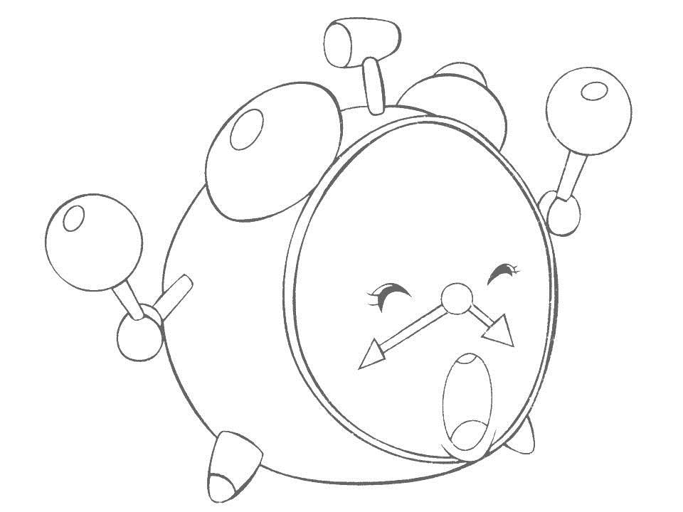 Clock Coloring Sheets