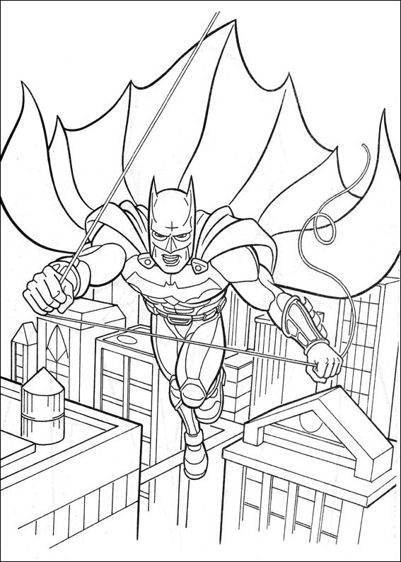 Batman Coloring Page To Print Pages Free Printable