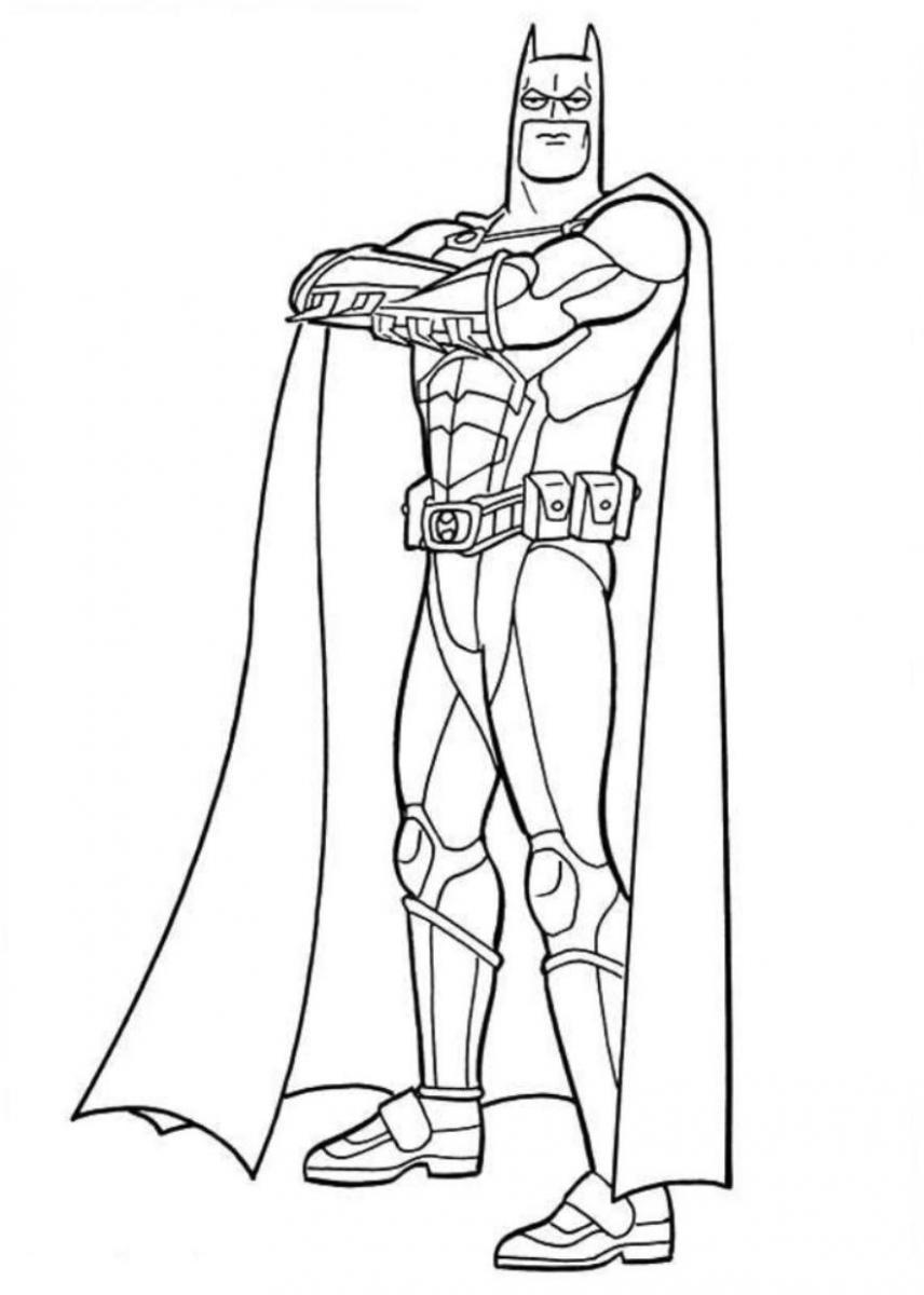 Batman Coloring Pages | 360ColoringPages