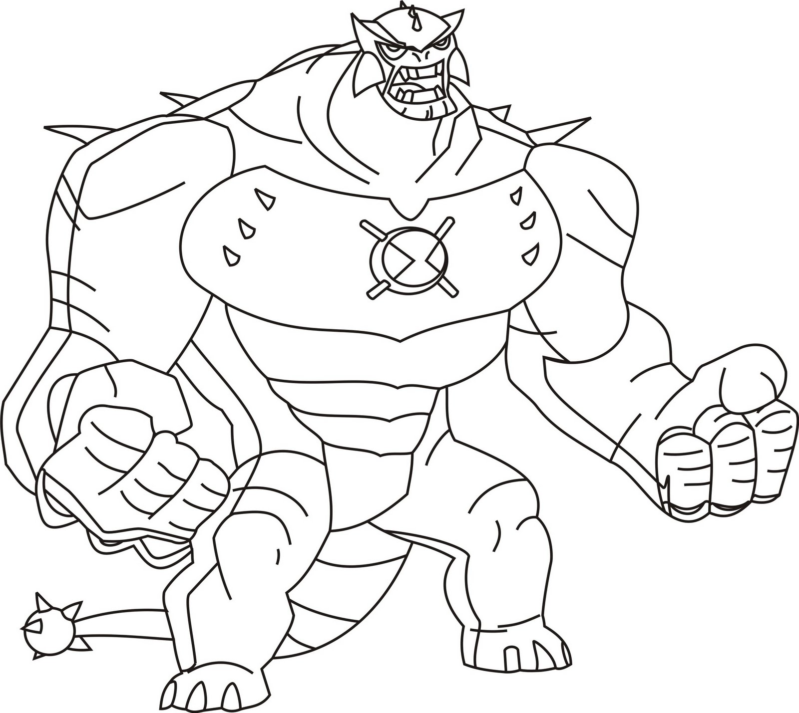 Printable Ben 10 Coloring Pictures