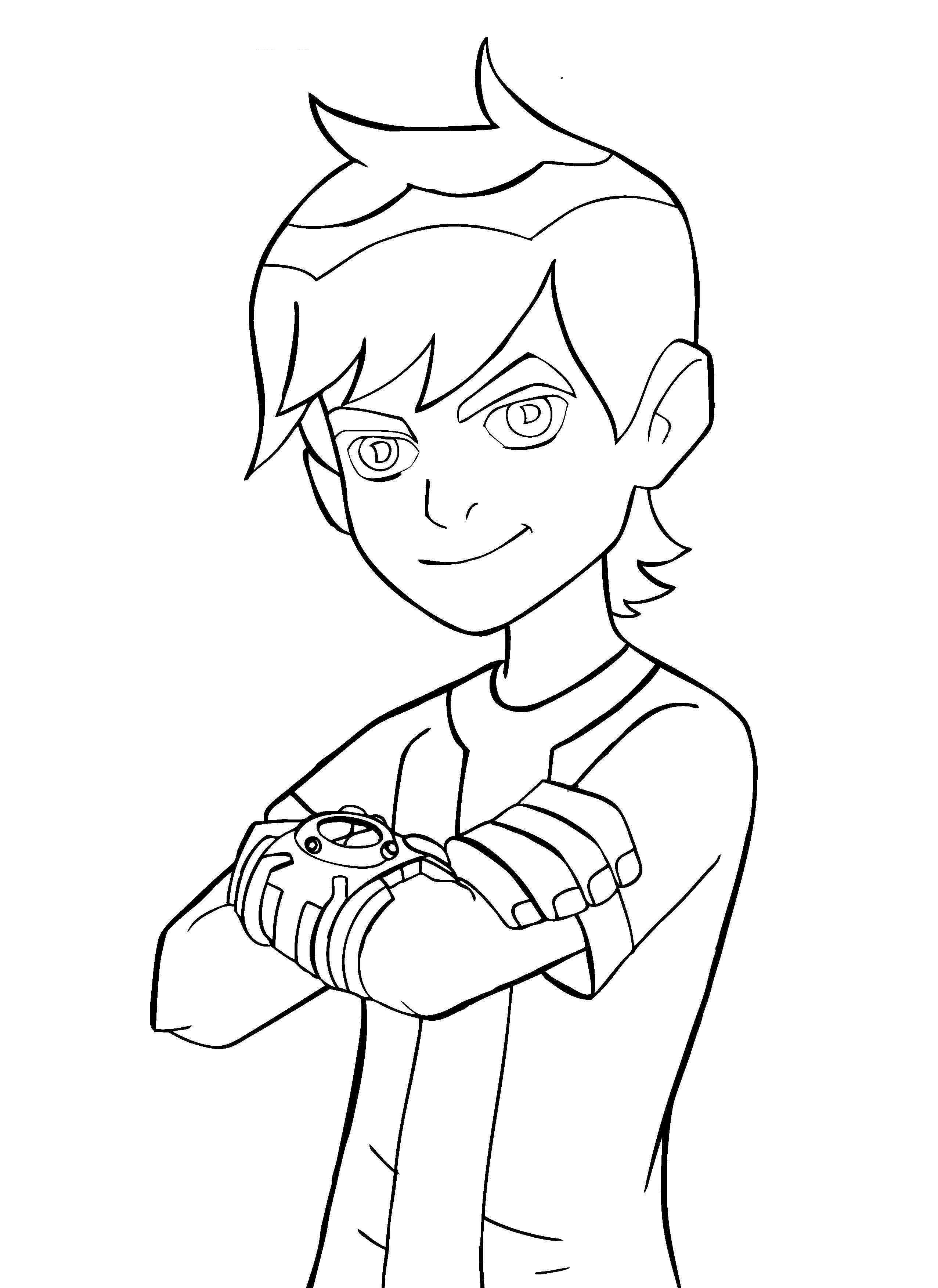 Ben 10 Coloring Pictures