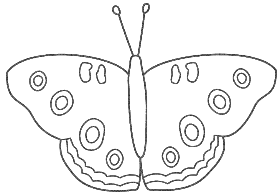 Printable Butterfly Coloring Pages Preschool
