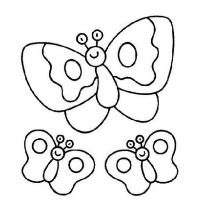 Printable Butterfly Coloring Sheets