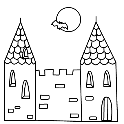 Castle Coloring Pages Free Print