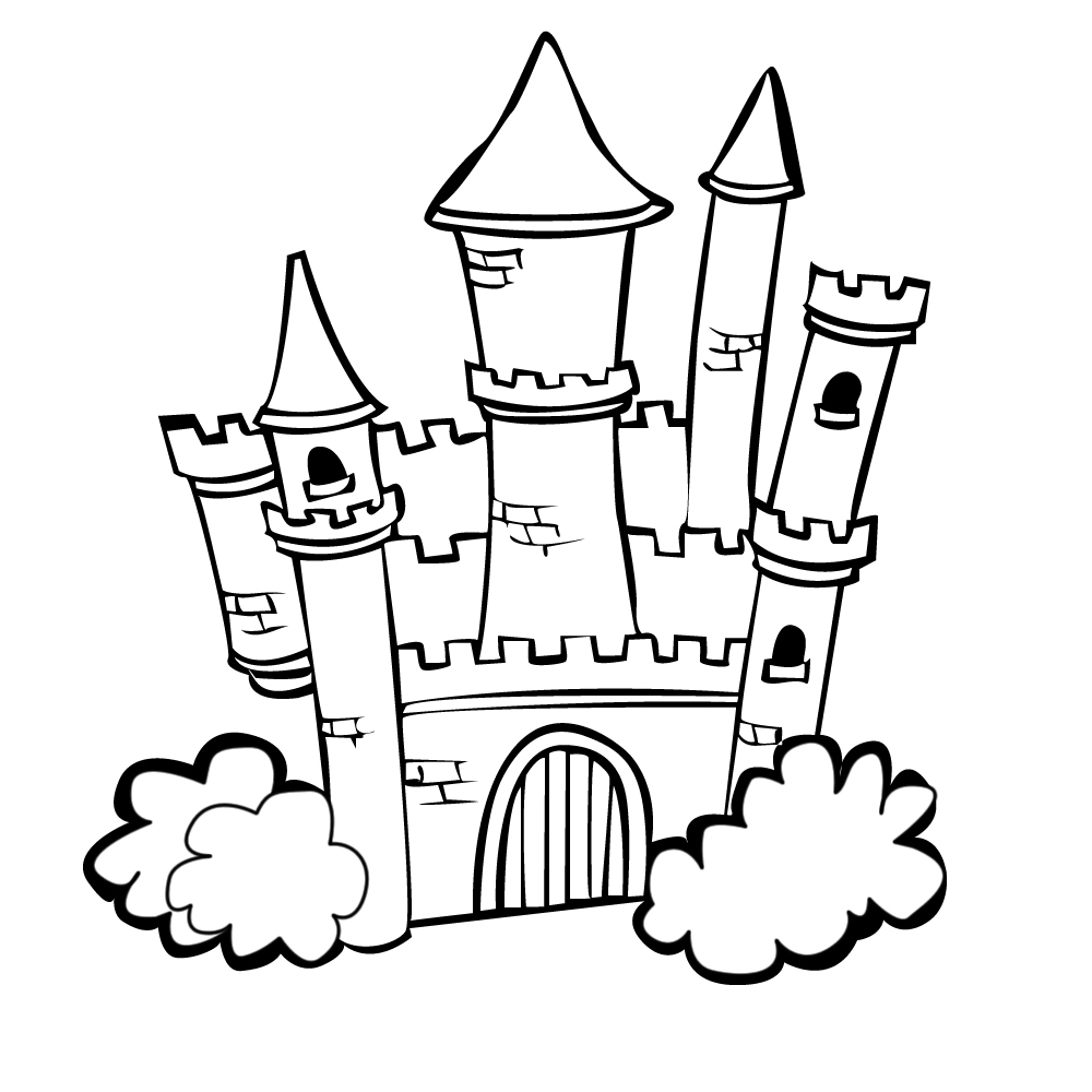Castle Coloring Pages 360ColoringPages