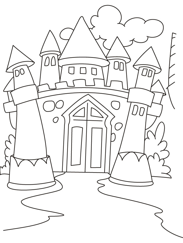 Castle Coloring Pictures