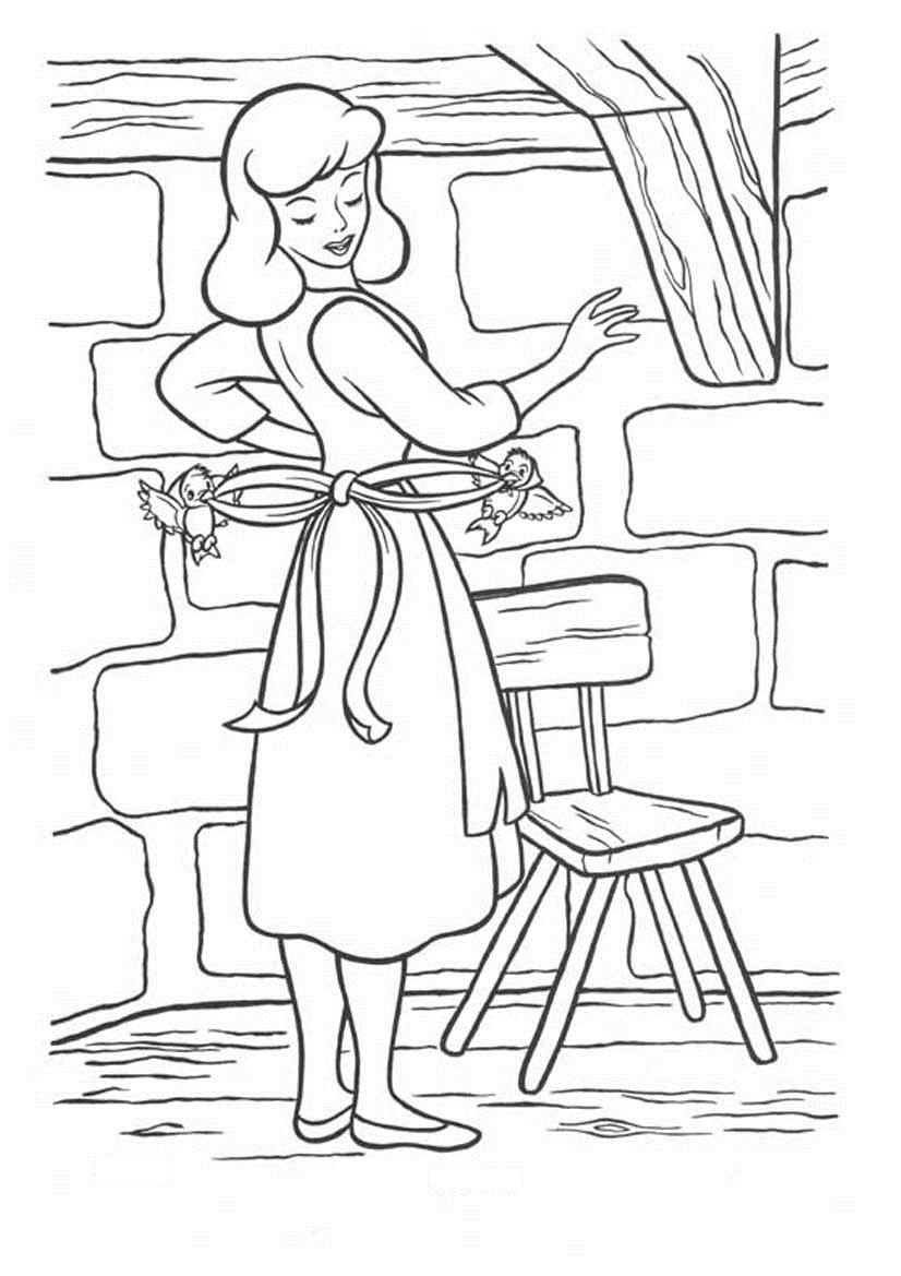 Cinderella Coloring Pages 360ColoringPages