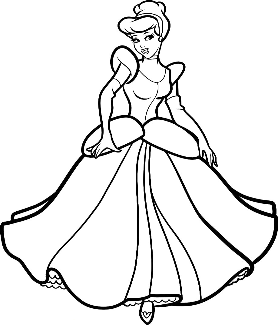 disney castle coloring pages printable - cinderella coloring pages 360coloringpages