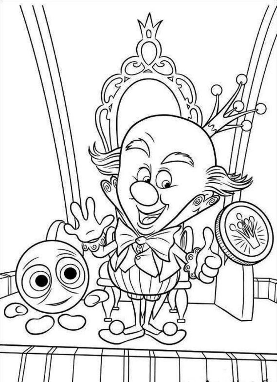 Clown Coloring Pages 360ColoringPages