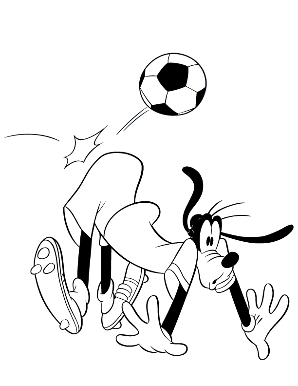 Coloring Pages Goofy