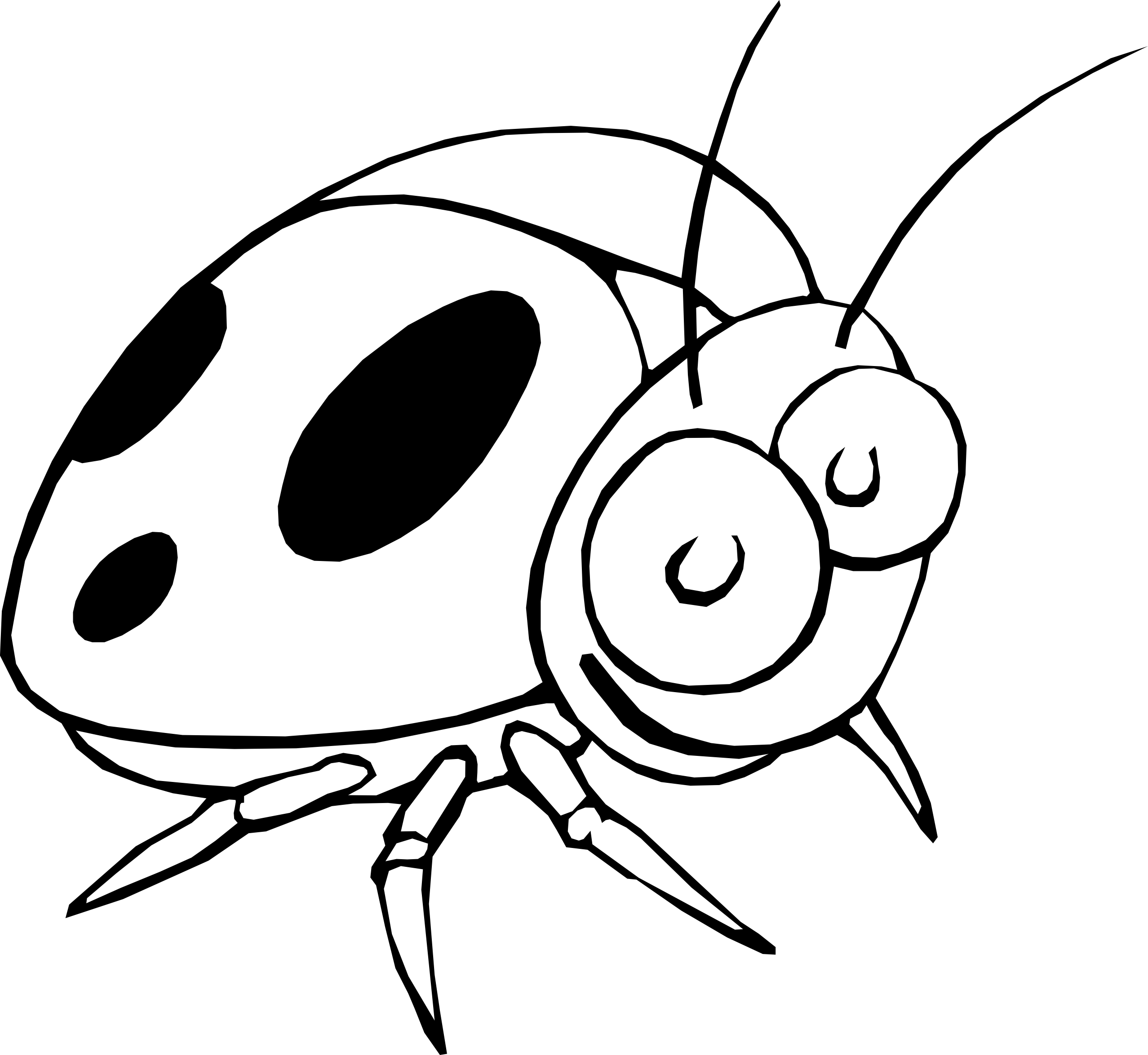 Cute Ladybug Coloring Pages to Print