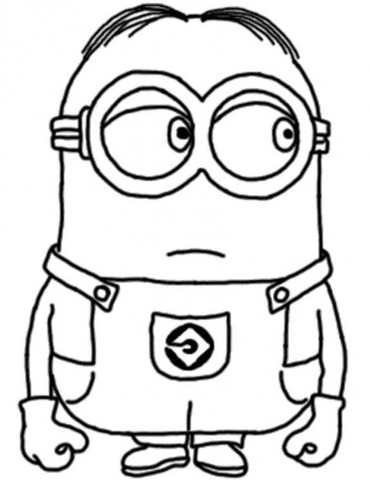 Free Despicable Me 2 Coloring Pages