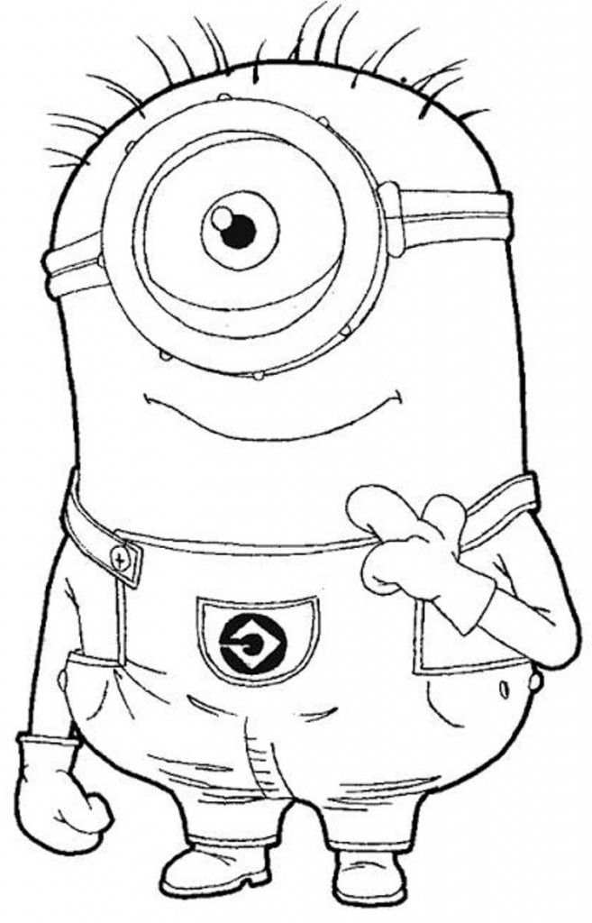 Despicable Me Coloring Sheets