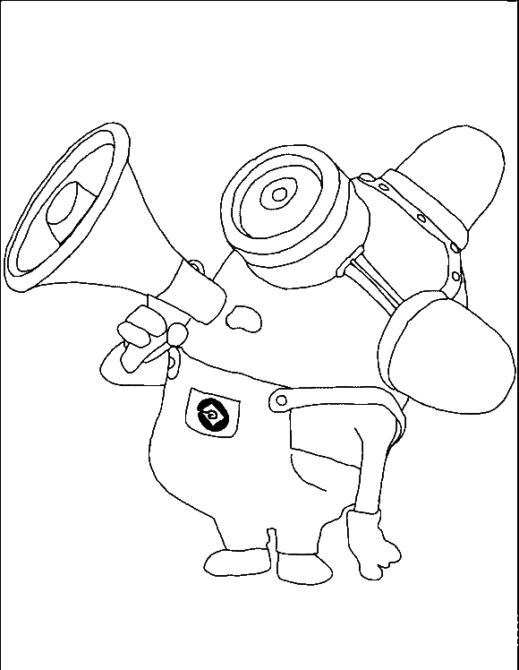 Despicable Me Coloring Pages Free