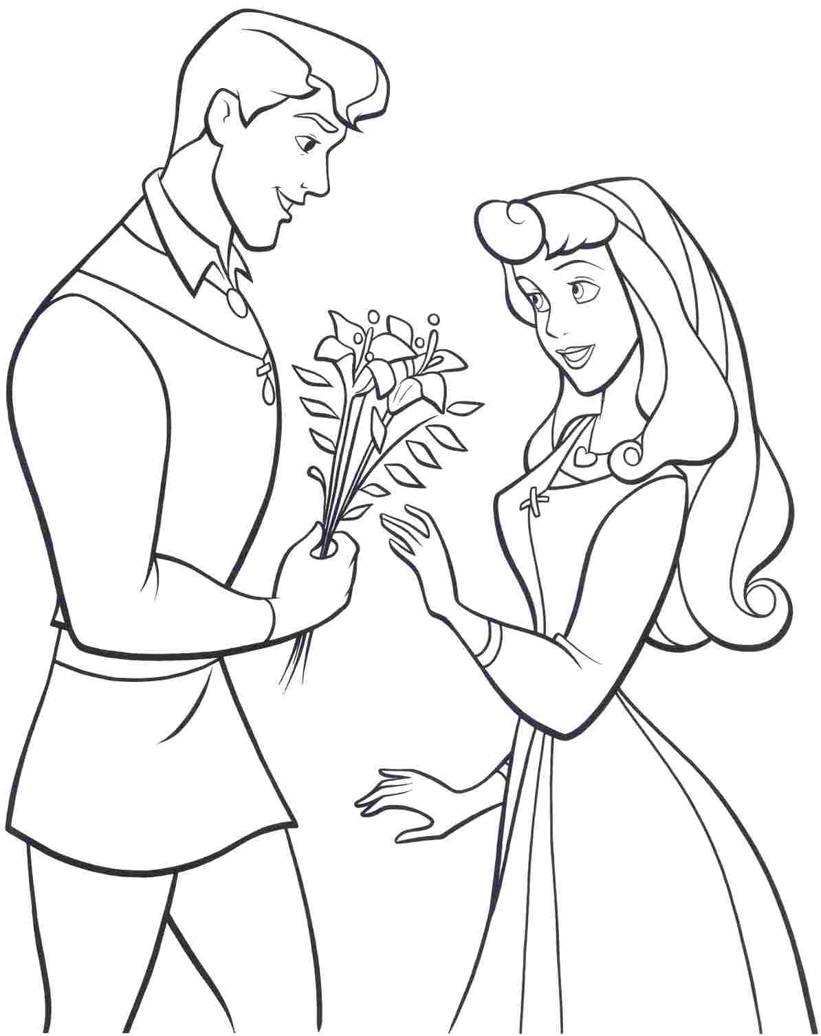 Disney Princess Aurora Coloring Pages Printable