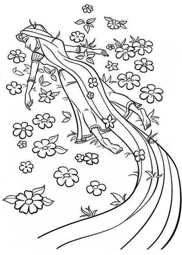 Free Disney Tangled Coloring Pages