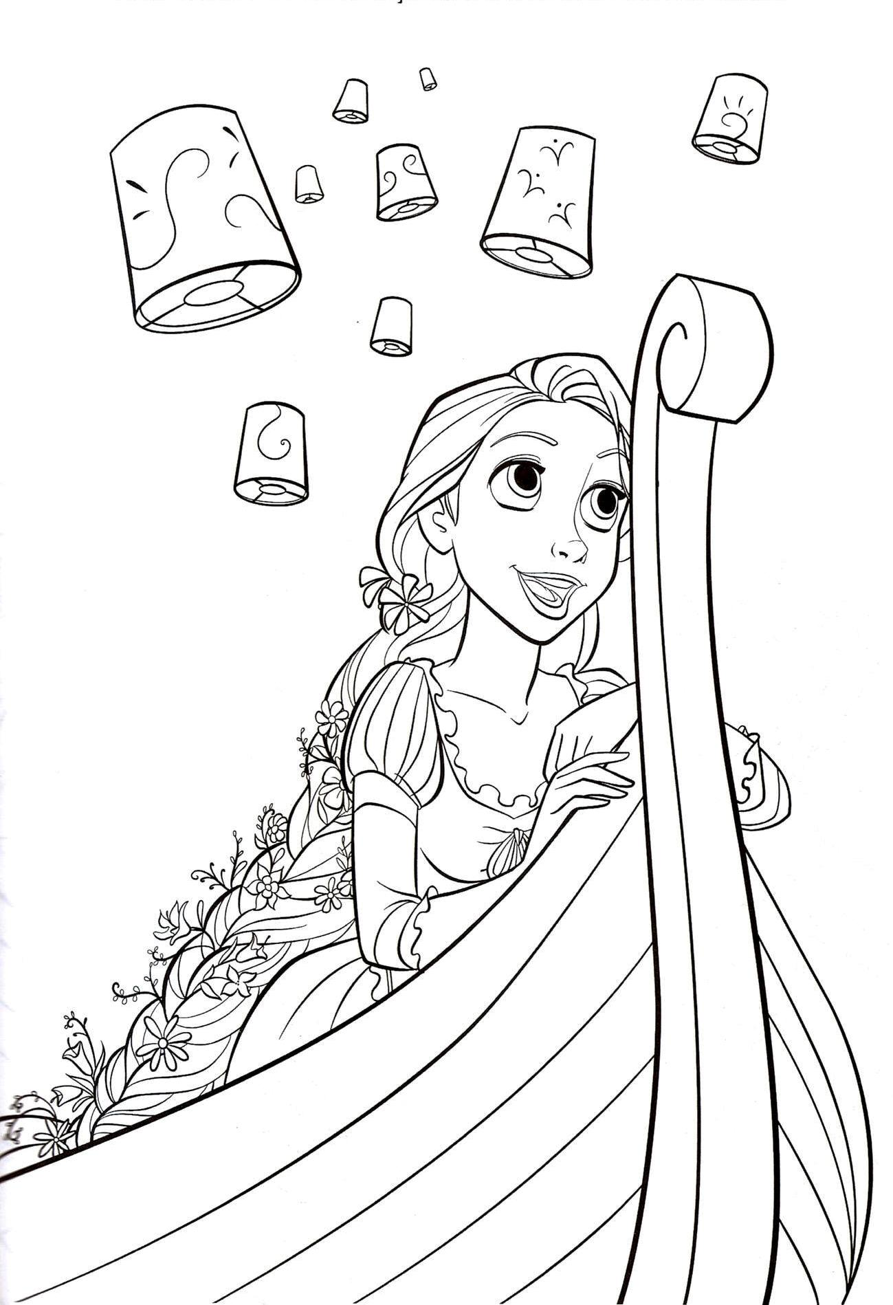 Tangled coloring pages 360coloringpages for Tangled coloring pages