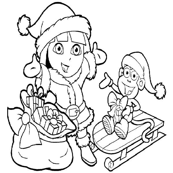 Dora coloring pages 360coloringpages for Dora mermaid coloring pages