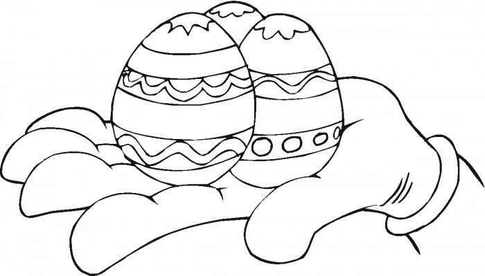 Free Printable Easter Egg Coloring Sheets